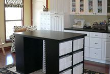 Sewing Room Ideas / by Vickie Stithem