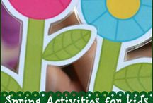 Spring Activities for Kids / Activities for kids with the theme of Spring / by Encourage Play