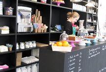 Déco boutique / Idée et concept eco design pour une boutique futuriste et recyclée  / by Belly Bedaine