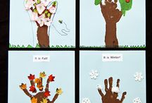 Preschool Seasons Crafts / by Christy Price