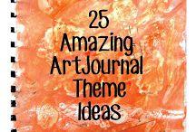 Art Journals / Journals / by Michelle Vanstrom