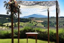 Phoebe & Ricky. 30 June 2013. Terre di Nano. Tuscany. Planning: Weddings International Flower Decor: La Rosa Canina Photo: Tommaso Torrini / Wedding in Tuscany / by La Rosa Canina FIRENZE