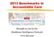 HIN SlideShare Presentations / by Healthcare Intelligence Network