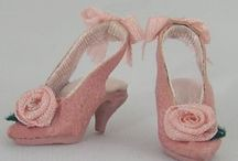 Miniature shoes and more ....... / by Mary Hall