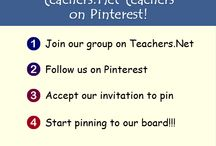 Pinterest Teachers (Group Board) / Pins from Teachers around the world.  Teachers - follow us to be invited to pin! / by Teachers.Net