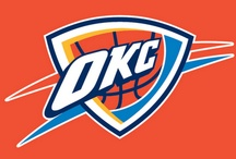 Feel the Thunder / OKC Thunder basketball / by Ellen Deal