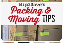 Moving and packing! / by Stacy Vernon