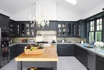 I dream of kitchens / I dream of kitchens. Warm kitchens full of family and love and delicious food.  / by Nikole Bordato