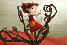 Dibujos animados  / by Alfalfa Accesorios