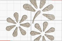 Dainty Daisies / Inspiration for our floral Carpet Stencil.  / by Vecco