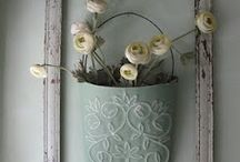 Shabby Chic decorating  / by Brooke Forbes