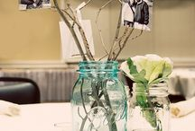 wedding: centerpieces/decorating / by Beth S.