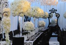 Event Decor / I'm always on the look out for wonderful ideas that I can replicate less expensively. / by Lee Ortiz