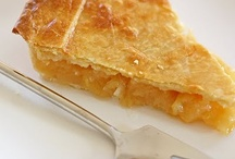 What a Tart and Piece of Pie / Pies and Tarts  / by Food Junkie