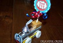 Train birthday party ideas / by Carey Gardner
