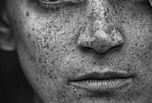 I Heart Freckles / If you're freckly come to my studio in S.F. I'm always looking for new freckled people to photograph. / by Michael Winokur