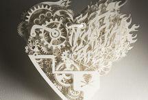 Paper Works 紙藝 / by KIWIFRUIT KIWI WORLD