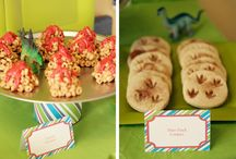 Dinosaur and Fossil Party Ideas / by Gretchen | Three Little Monkeys Studio