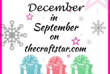Gifts Under $20 September 4th / Join us for December in September on The CraftStar! September 4th is Gifts under $20 http://www.thecraftstar.com/ / by TheCraftStar