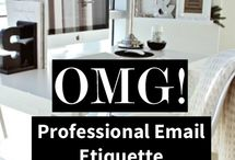 Professional Tips, Tricks, and Etiquette / by 4wordwomen