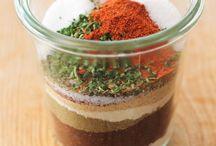 Dry mixes (seasonings and other mixes)  / by Maria Vlastuin