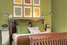 bedrooms / by Nancy Grosland