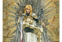 Game of Thronerisms / The books and the show are a big part of my life.  <3 GRRM.   FYI-Spoilers abound.  I've read all the books.   / by Anna Mitchell