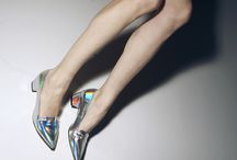 Shine On / Holographic, Metallic, Iridescent, Neon Lights / by Moon Cat