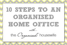 Office / by The Organised Housewife