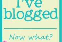 My blogging world / by Simply Gloria