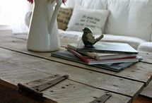 Decor: FARM TABLES / by Donna - Funky Junk Interiors