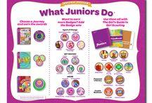 Juniors Girl Scouts / by Stacie Schwartz