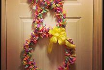Rag wreaths / by Kyle thornton