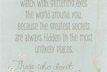 Quotes / by Jennifer Tough