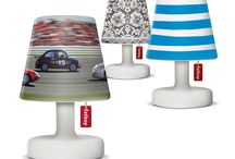 Cooper Cappie / Customize your Edison the Petit. The Cooper Cappie range, a serie of small, stylish and exchangeable lamp shades varying from vintage 'Granny' to Arabian Nights-themed 'Mounir', has a Cooper Cappie for everyone's favourite party theme, mood or interior! / by Fatboy