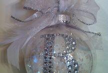 Homemade ornaments!!! / by Renee Moran
