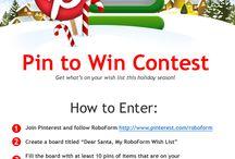 Holiday Wishlist Contest 2013 / Enter RoboForm's holiday wishlist contest at http://www.roboform.com/wishlist!  / by RoboForm