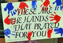welcome home military signs / by Michelle Lecker-Saravanja