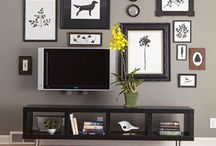TV decor / by Stacie Davidson