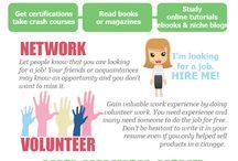Job hunting ideas / by Kelly Howard