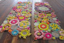 knitting and needlework / by Maxine Jones