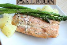 Salmon Recipes <3 / by Vicky Manchik