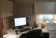 Stacey's Cubicle / Decor idea's for a coworkers cube. / by Kathryn Humphreys
