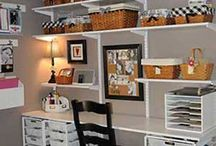 Office/craft room / by Melissa Kay