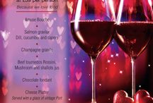 Valentines @ Nico's Bistro / 01463 234308 to book / by The Glen Mhor Hotel and Apartments