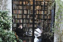 home libraries / by Susan Bartlett