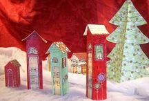 Holiday: Christmas / DIY, crafts, food, gifts, celebrations, decor. All things Christmas. / by Heather Mann: Dollar Store Crafts