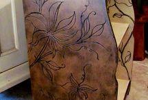 wood working ideas / by Dinah Stoffregen