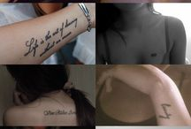 Tattoos / by Taylor Dupes