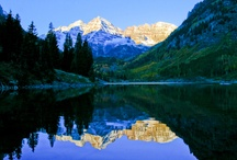 """Colorado Mountains / """"Here 'til the Judgement I will stay."""" / by Adrienne Marie"""